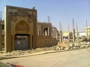 """مسجد ومرقد النبي شيت """"شيث"""" في الموصل"""